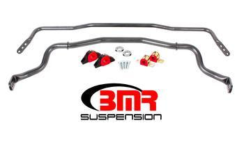 Mustang 2015 - 2017 Sway Bar Kit With Bushings, Front & Rear BMR Suspension