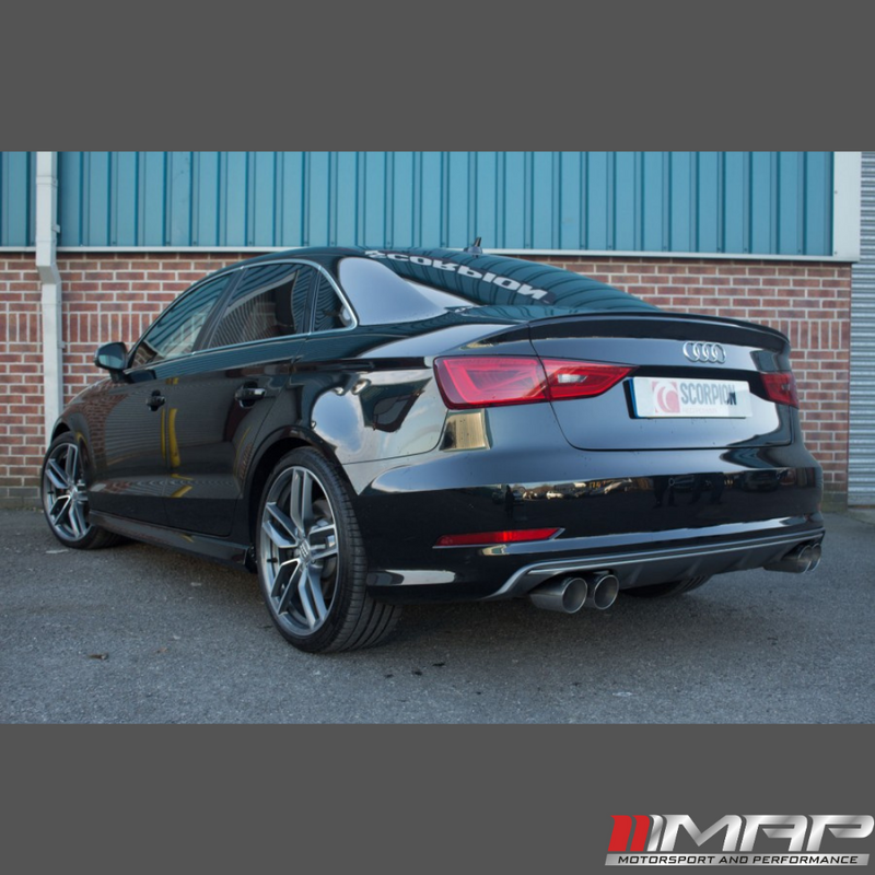 Scorpion Cat Back Exhaust – AUDI S3 Saloon (8V)
