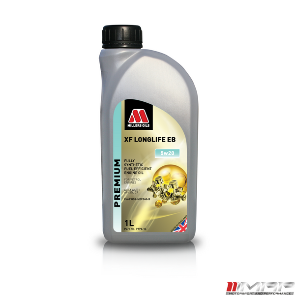 MILLERS XF OIL LONGLIFE EB 5W20 1 LITRE