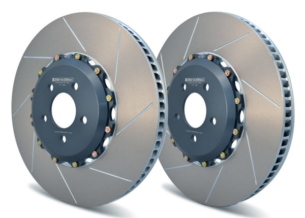 Girodisc Front 2pc Floating Rotors for S550 Mustang GT