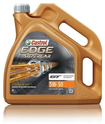 Castrol 5w50 Supercar engine oil