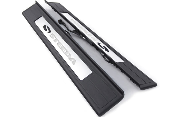 Steeda S550 Mustang Illuminated Door Sill Plates