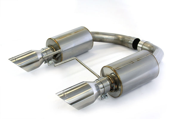 Steeda S550 Mustang GT Axle-Back Exhaust 5.0L Coyote - Aggressive Tone  2015-17
