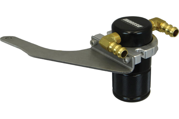 Moroso S550 Mustang GT Small Body Black Air Oil Separator