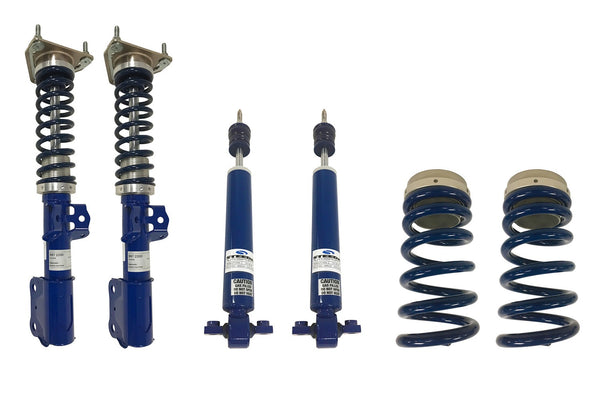 Steeda S550 Pro-Action Front Coilovers With Adjustable Rear Ride Height Kit
