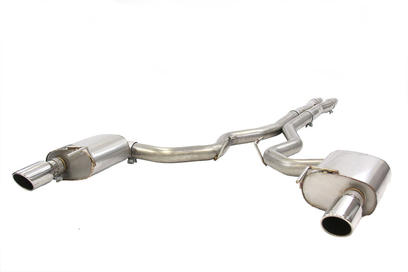 "Steeda S550 Mustang 3"" Cat-Back Exhaust System 5.0L Coyote 2015-17"