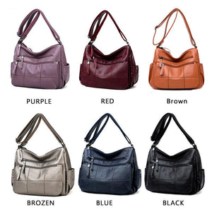 🔥 70% OFF&BUY 2 FREE SHIPPING 🔥Women Leather Crossbody Bag