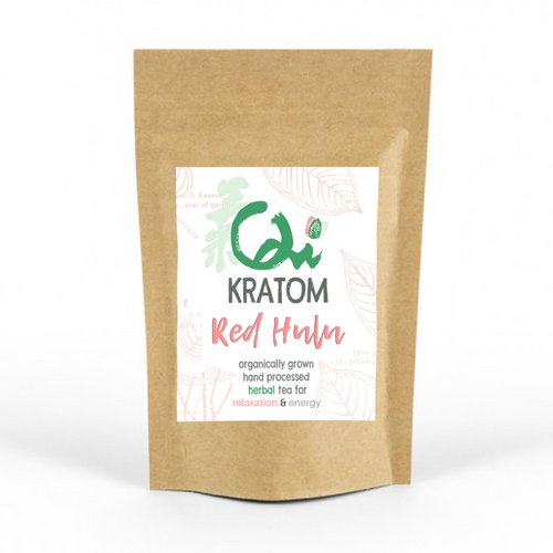 Red Hulu Kratom Powder