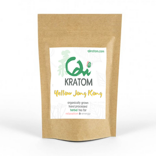 Yellow Jong Kong Kratom Powder