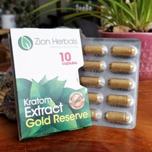 Load image into Gallery viewer, Kratom Extract Capsules (10 pack)