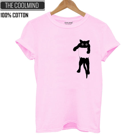 OB Coolmind Qi0232b Cotton Cat Print