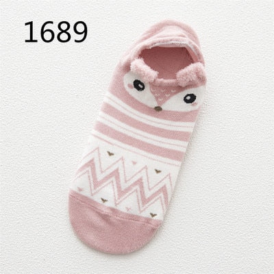 Cute Cat Cotton Socks Female Kawaii