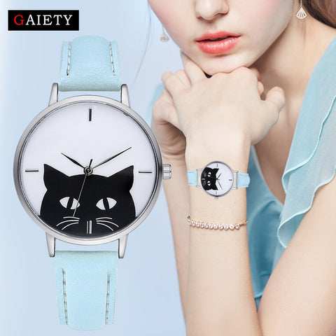 OB Luxury Stainless Steel Case Women Watch