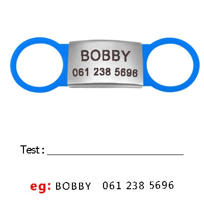 OB Personalized Cat ID Tag Customized Engraved