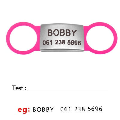 Personalized Cat ID Tag Customized Engraved