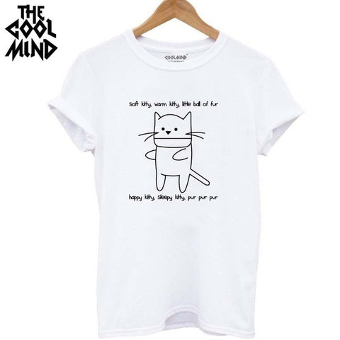 Image of Coolmind Qi0232b Cotton Cat Print