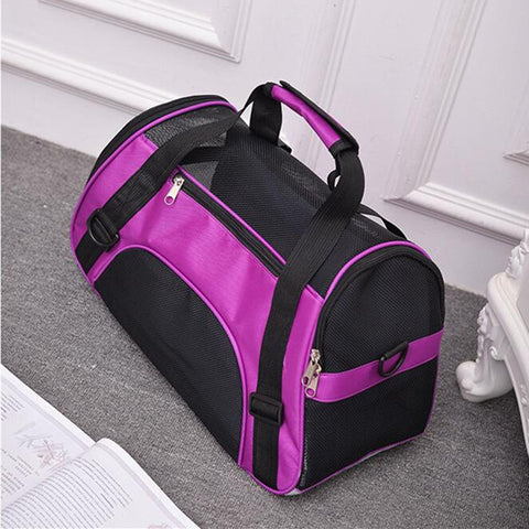 Image of Pet Cat Backpack Messenger Carrier Bags