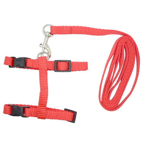 Adjustable Nylon Pet Harness For Cats Dogs Pet Traction Harness Belt Kitten Cat Collar Harnesses leash For Pet Cats Supplies