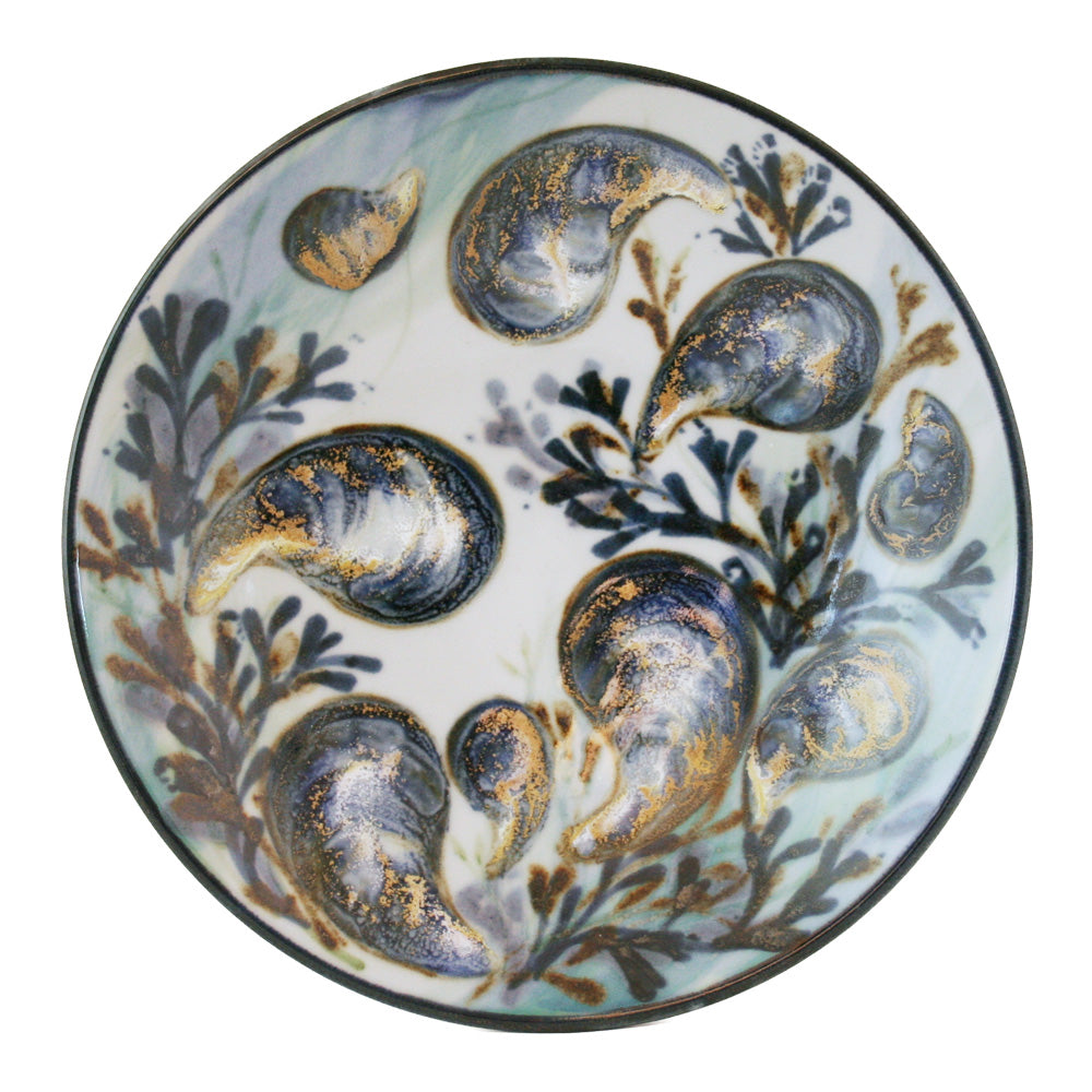 15% OFF Highland Stoneware Mussel Large Geo Dish was £110.95 now £94.30