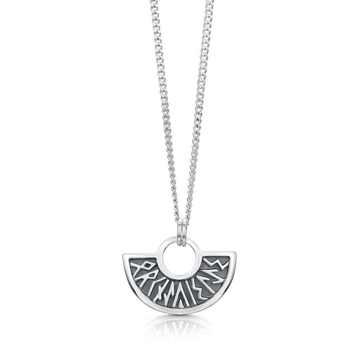 Sheila Fleet Runic Necklace ( P034-SIL)  £81.00