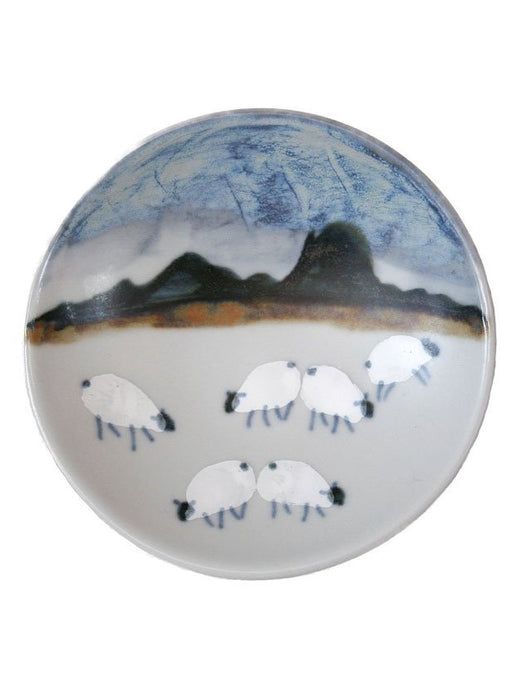 Highland Stoneware Sheep Small Geo Dish £21.95