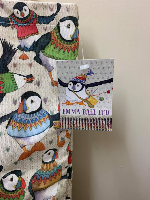 Emma Ball Woolly Puffin Tote Bag £14.95