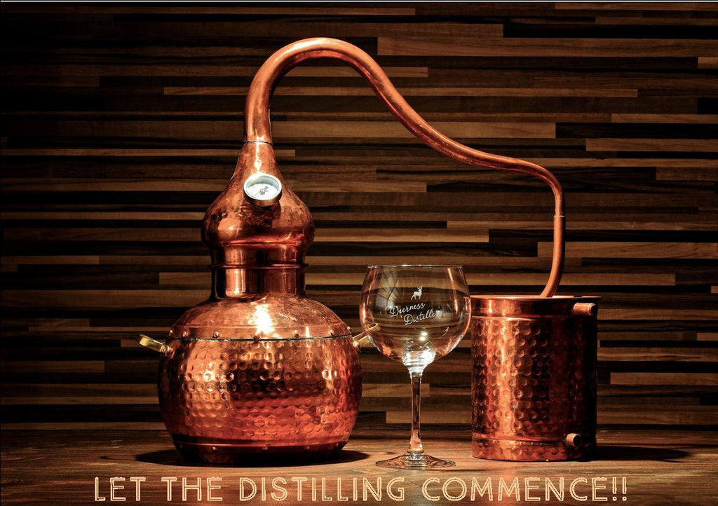 Deerness Distillery Vodka - Into The Wild 20cl £15.99 with Vodka Mat