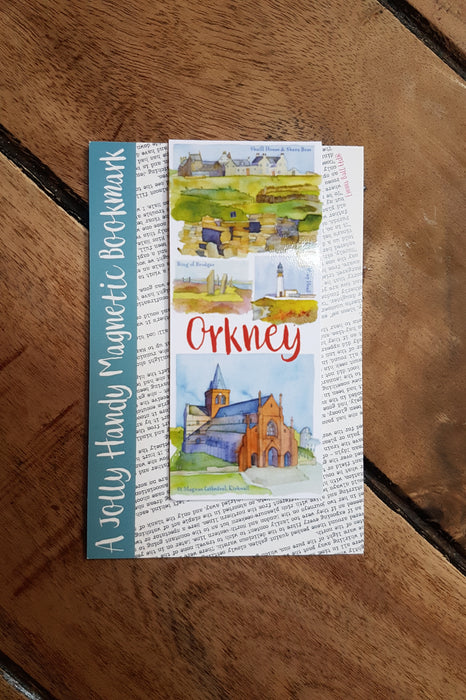 Emma Ball Handy Magnetic 'Orkney' Bookmark £2.95