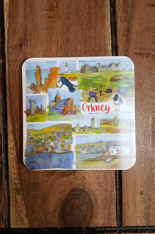Emma Ball 'Orkney' Coaster £2.95