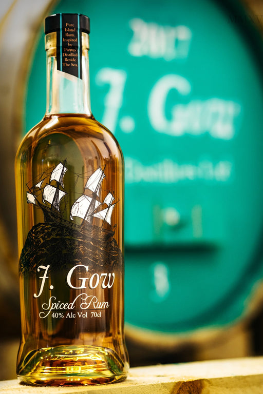 J. Gow Spiced Rum 70cl £29.99