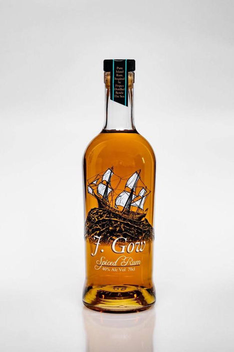 J. Gow Spiced Rum 70cl £31.9