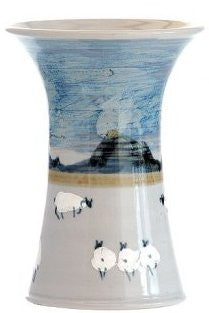 Highland Stoneware Medium Sheep Vase £59.95