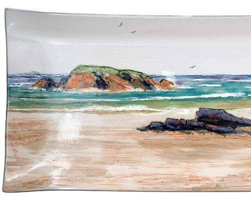 Highland Stoneware Seascape 34cm Rectangle Dish £88.95