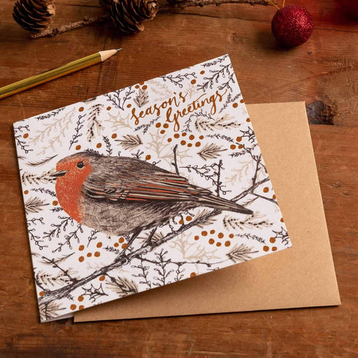 25% OFF Cherith Harrison Robin Xmas Card WAS £2.95 NOW £2.25