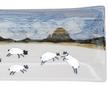 Highland Stoneware Sheep Long Rectangle Dish £42.95