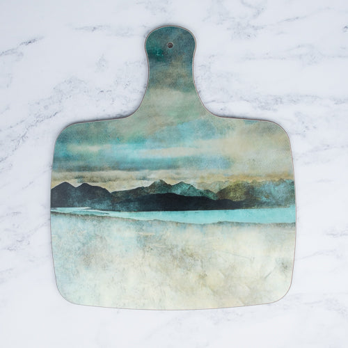 Cath Waters Skye from Bealach Na Ba Applecross Large Chopping Board £14.95