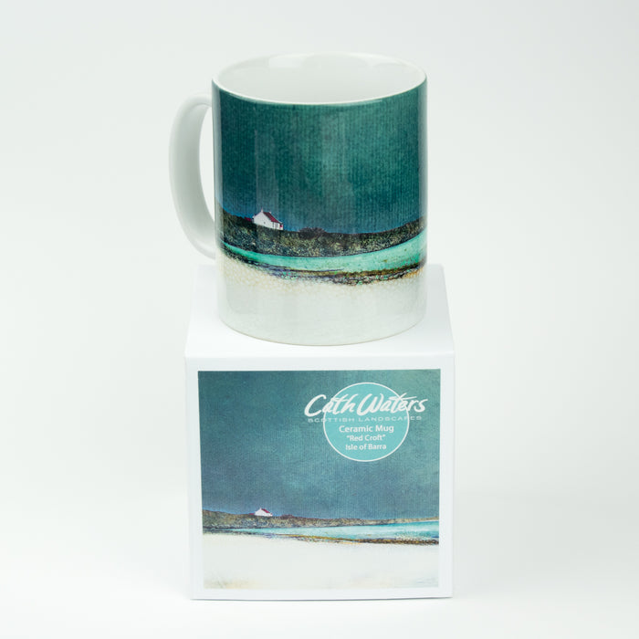 Cath Waters Red Croft Barra Mug £11.95