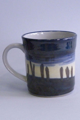 Highland Stoneware Ring of Brodgar Night Sky Mug - 1/2 Pint £39.95