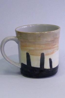 Highland Stoneware Ring of Brodgar Sunset Mug - 1 Pint £41.95