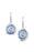 Sheila Fleet Brodgar Eye Drop Earrings in Misty Blue  £139.00