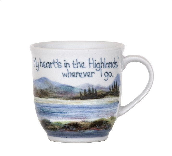 Highland Stoneware My Heart's In The Highlands Cup £38.95
