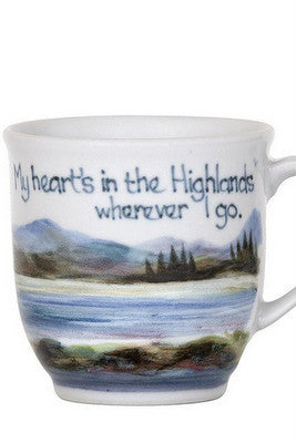 Highland Stoneware My Heart's In The Highlands Cup £35.95