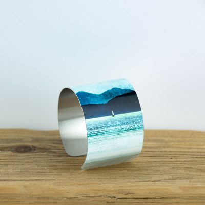 Cath Waters Inner Sound Skye and Scalpay Aluminium Bangle £26.95