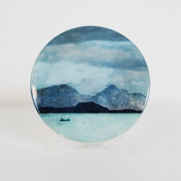 Cath Waters Rum from Ardnamurchan Coaster £7.95 (no gift box)