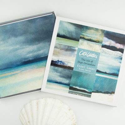 Cath Waters Isle of Skye Collection Boxed set of 8 Greetings Cards £12.95