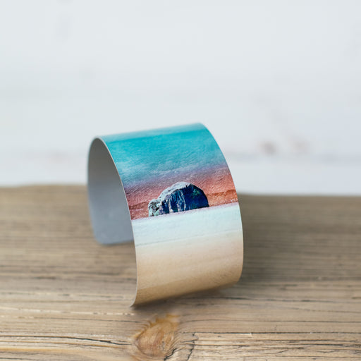 Cath Waters Bass Rock Aluminium Bangle was £26.95