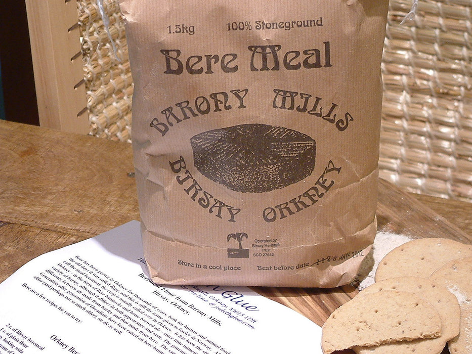 Orkney Bakery Beremeal Shortbread Rounds £4.50