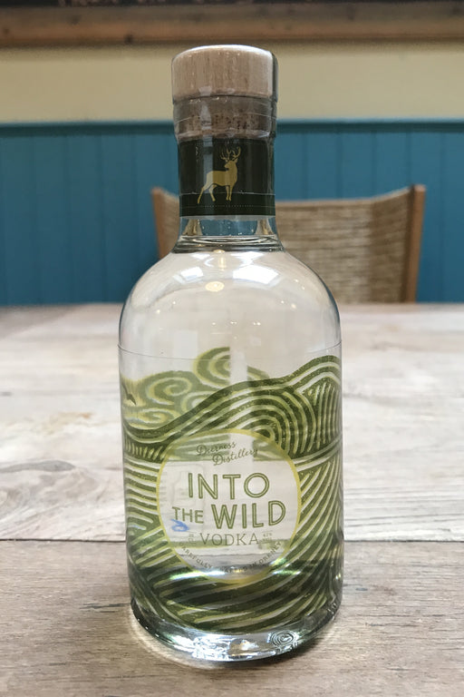 Deerness Distillery Vodka - Into The Wild 20cl £16.99 with Vodka Mat