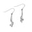 Ortak Twist and Shout Silver Earrings ( E1726 ) £70.00