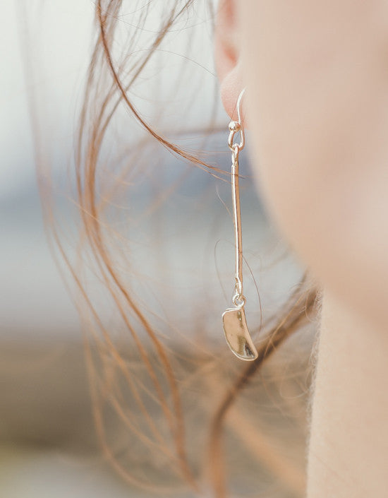 Zoe Davidson Wavelet Long Drop Earrings £50.00